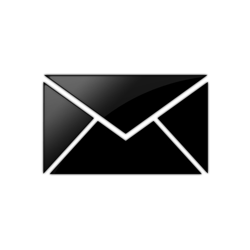 Contact Icon BlackContact Email Icon
