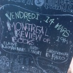 Montreal Review of Books launch